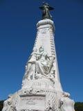 Französischer Riviera-Denkmal in NIC Stockbilder