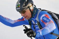 Französischer Skifahrer WilliamBon Mardion Stockbild