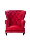 Französisches Stuhl-Rot Lizenzfreie Stockfotografie
