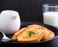 Französischer Toast Lizenzfreie Stockfotos