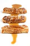 Französischer Toast-Streifen Stockfotografie