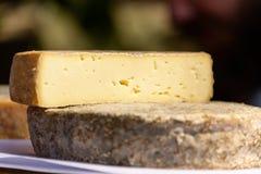 Französischer tomme Käse Lizenzfreie Stockbilder