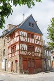 Französisches altes Haus Stockbilder