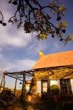 Französisches Bauernhaus Stockfoto