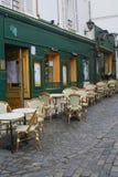 Französisches Bistrot lizenzfreies stockbild