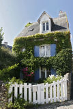 Französisches Bretagne-Haus Stockbild