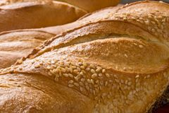 Französisches Brot Lizenzfreies Stockfoto