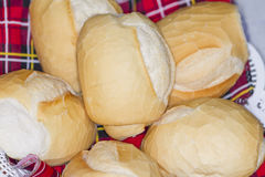 Französisches Brot - pão francês Stockfoto