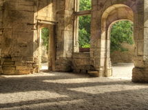 Französisches Chateau Stockfotos