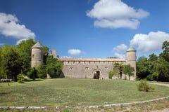 Französisches Chateau in Süd-Frankreich Stockbilder