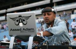 Französisches DJ Assad Lizenzfreie Stockfotos