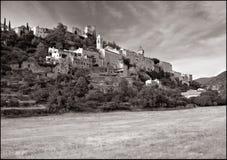Französisches Dorf Stockfoto