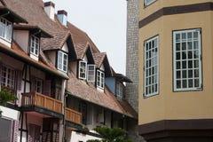 Französisches Dorf Stockbild