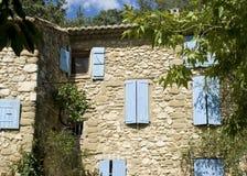 Französisches Dorf, Haus in Provence. Stockbilder