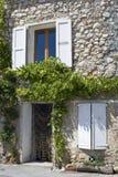 Französisches Dorf Street.Provence Stockfotos