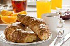 Französisches Frühstück Lizenzfreies Stockbild