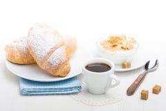 Französisches Frühstück Stockfotografie