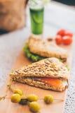 Französisches Frühstück Lizenzfreies Stockfoto