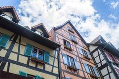 Französisches Haus Stockbilder
