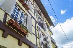 Französisches Haus Stockfoto