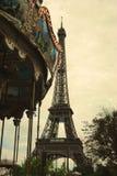 Französisches Karussell Lizenzfreies Stockbild