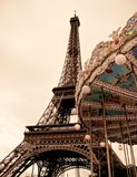 Französisches Karussell Stockfotos