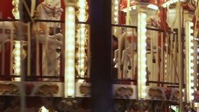 Französisches Karussell stock video footage