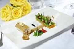 Französisches Kochen Stockbild