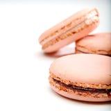 Französisches macaron Lizenzfreies Stockbild