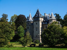 Französisches Renaissanceartschloss in Goluchow, Polen Stockfotografie