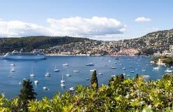 Französisches Riviera Stockfoto