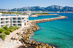 Französisches Riviera Stockfotografie