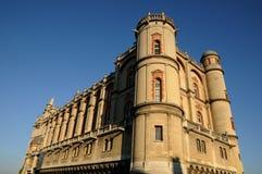 Französisches Schloss Stockfotografie