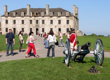 Französisches Schloss im alten Fort Niagara Stockfotografie