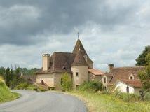Französisches Schlosshäuschen Stockfotografie
