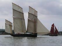 Französisches traditionelles Fischerboot La Cancalaise Lizenzfreie Stockbilder