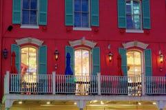 Französisches Viertel Stockbild