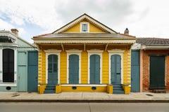Französisches Viertel-Haus Stockbild