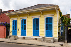 Französisches Viertel-Haus Lizenzfreies Stockbild