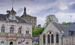 Französisches Villiage Stockbilder