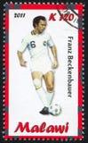 Franz Beckenbauer Lizenzfreies Stockbild