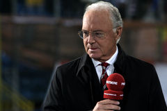 Franz Beckenbauer Stock Photography