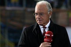 Franz Beckenbauer fotografia stock