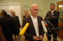 Franz Beckenbauer Royalty Free Stock Photography