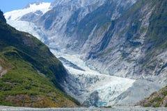franz glaciär josef royaltyfri bild