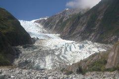 franz glaciär josef royaltyfri foto