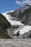 franz glaciär josef arkivbild