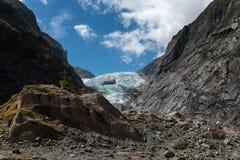 franz glaciär josef New Zealand royaltyfria foton