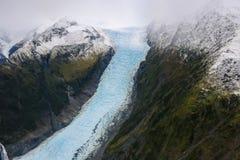 franz glaciär josef New Zealand royaltyfria bilder