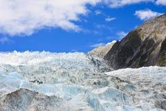 franz glaciär joseph Fotografering för Bildbyråer